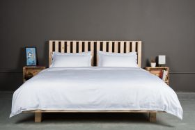 OAK BED SET T-210