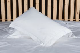 OLIVE OXFORD PILLOW CASE T-300